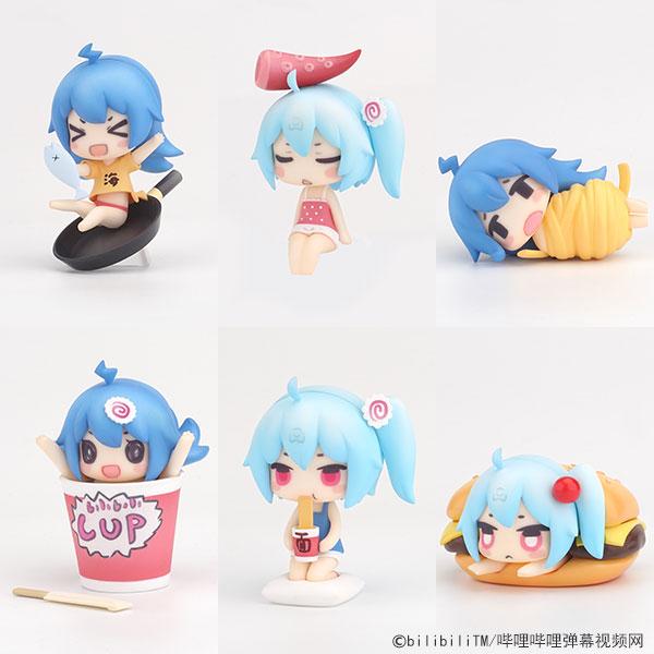Bilibili Douga - Bilibili Deformed Figure Series -2233 Nyan Kuishinbou ver.- 8Pack BOX(Pre-order)