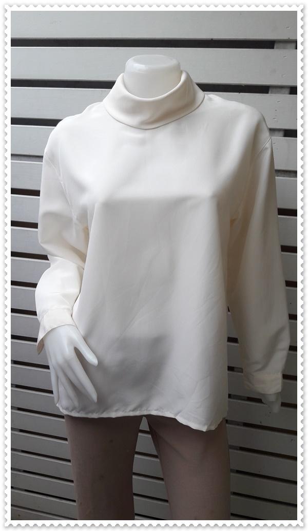 jp5023-เสื้อแฟชั่น นำเข้า สีครีม GRANJOUE อก 38 นิ้ว