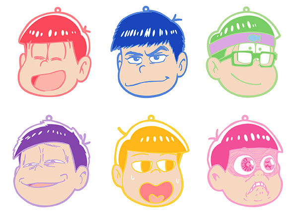 Osomatsu-san - Rubber Coaster vol.2 7Pack BOX(Pre-order)
