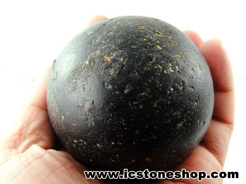 Spherulite หินทรงกลมอายุ 600 ล้านปีจากยูเครน (533g)