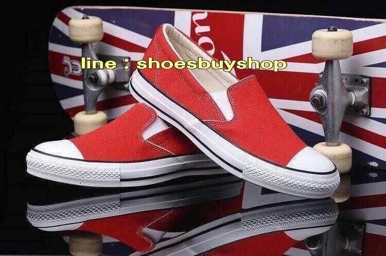 รองเท้า converse Slip on สีแดง