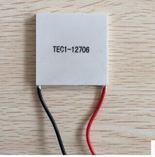 แผ่นทำความเย็น เทอร์โมอิเล็กทริค คูลเลอร์ TEC1-12706 Thermoelectric Cooler Peltier
