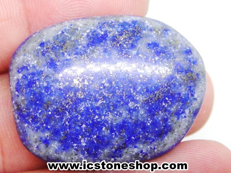 ลาพิส ลาซูลี่ Lapis Lazuli ขัดมันขนาดพกพา (19g)