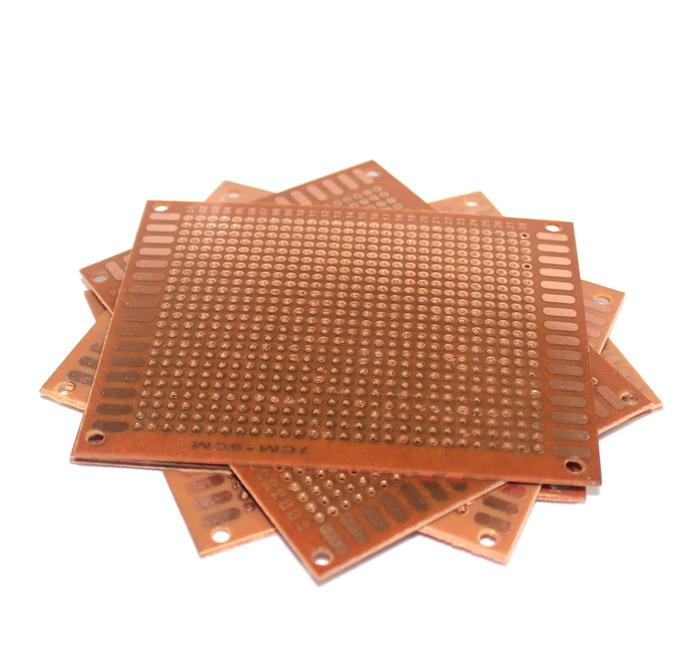 แผ่นปริ๊นอเนกประสงค์ ไข่ปลา Prototype PCB Board 5x7 cm