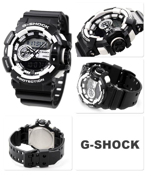 นาฬิกา คาสิโอ Casio G-Shock Standard Analog-Digital รุ่น GA-400-1A-preorder