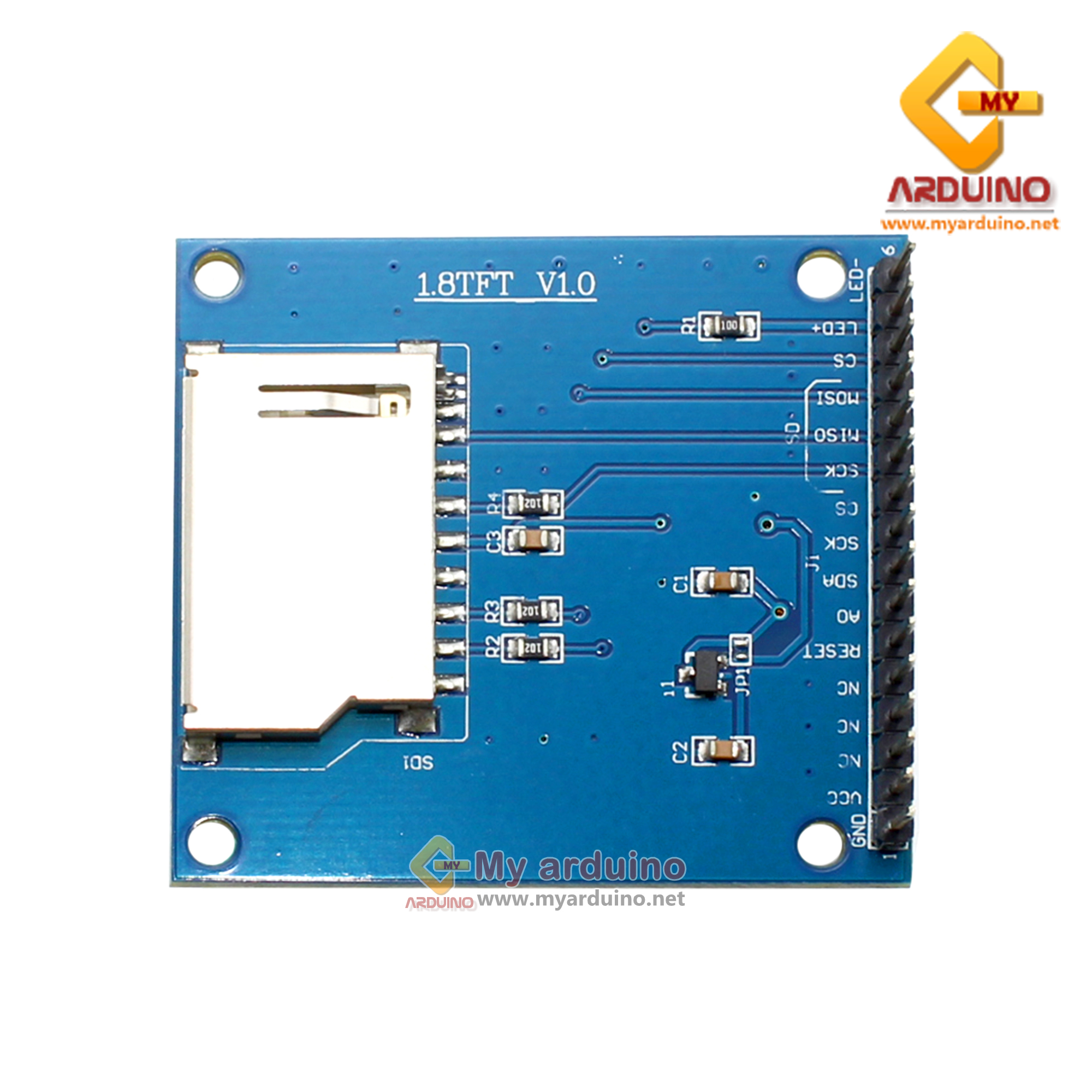 จอแสดงผล TFT LCD ขนาด 1 8