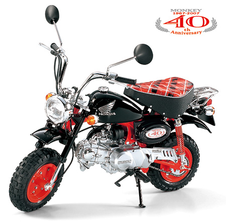 โมเดลมอเตอร์ไซด์ทามิย่า ขนาด 1/6 Tamiya TA16032 Honda Monkey 40TH  Anniversary - ขาย โมเดลประกอบ สีและอุปกรณ์ทำโมเดล Tamiya, F-toys, MENG  Model, Mr.color, Gunze : Inspired by LnwShop.com