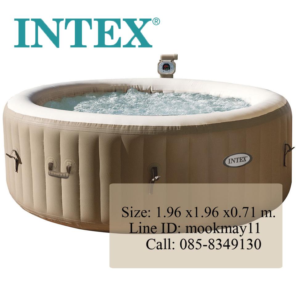 """Intex PureSpa™ 77"""" Bubble Massage Spa อ่างน้ำวน ระบบนวดด้วยแรงดันอากาศ 28404"""