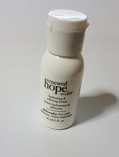 philosophy renewed hope in a jar hydrating and refining lotion [30ml]