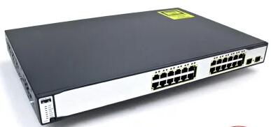 Cisco WS-C3750G-24TS-E Refurbished มือสอง