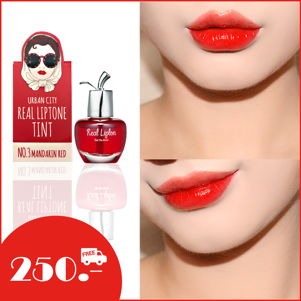 Urban City Real Liptone Tint NO.3 Mandarin Red