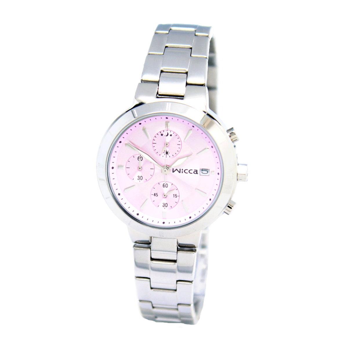 นาฬิกาผู้หญิง Citizen รุ่น BM2-217-91, Casual Chrono Analog Silver Watch