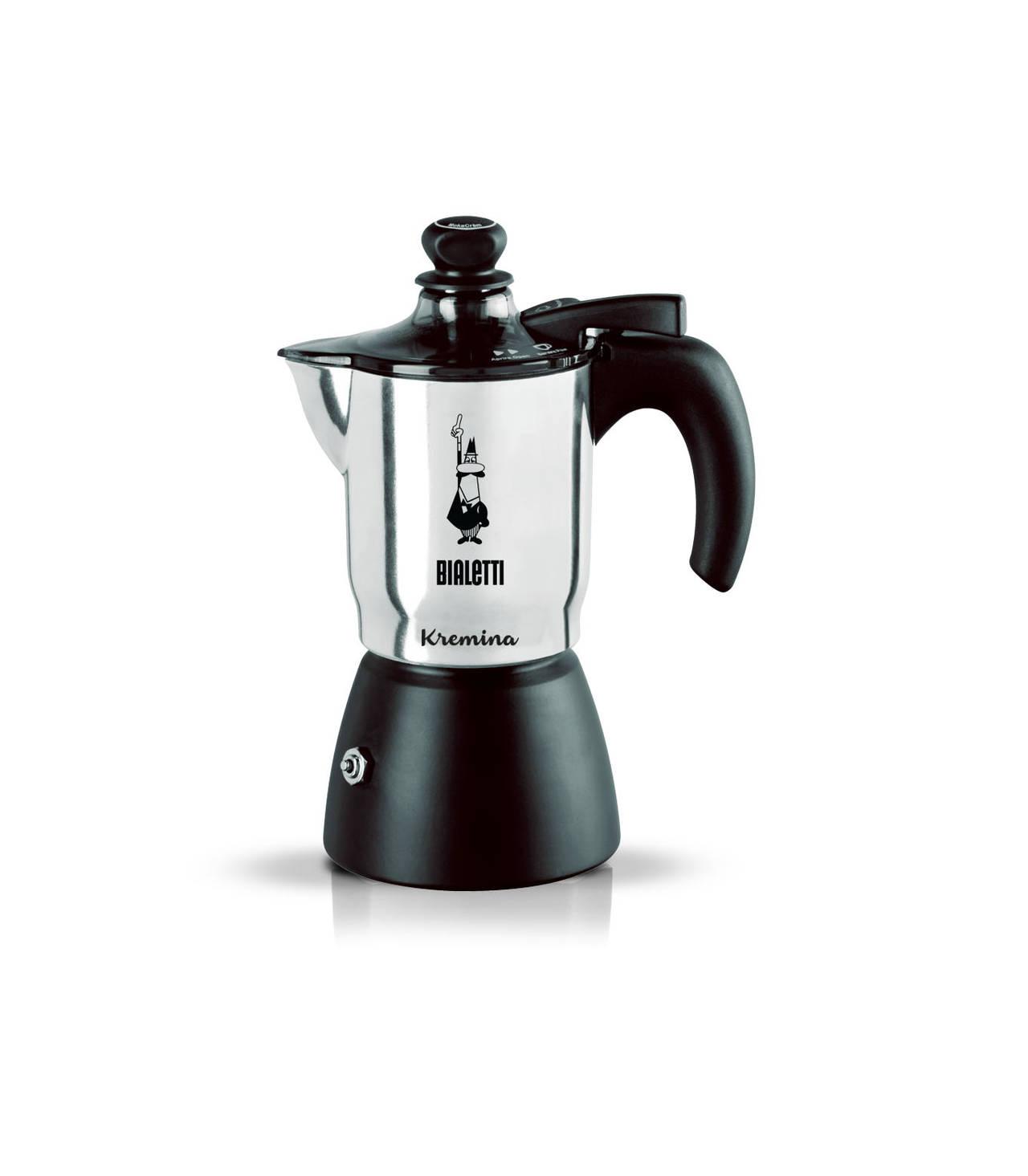 Bialetti หม้อต้ม กาแฟสด รุ่น Kremina ขนาด 3 cups