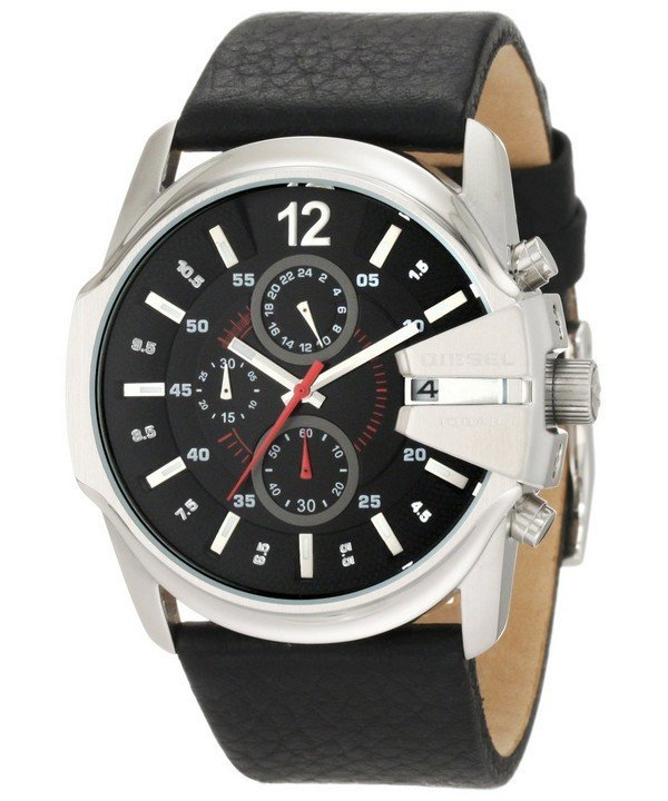 นาฬิกาผู้ชาย Diesel รุ่น DZ4182, Master Chief Chronograph Black Dial