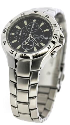 นาฬิกาข้อมือผู้ชาย Citizen รุ่น AN3330-51E, Quartz Chronograph 100m Sports