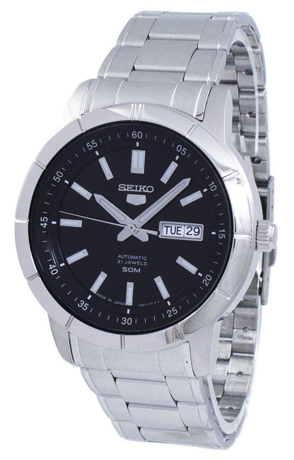 นาฬิกาผู้ชาย Seiko รุ่น SNKN55J1, Seiko 5 Sports Automatic Japan Made Men's Watch