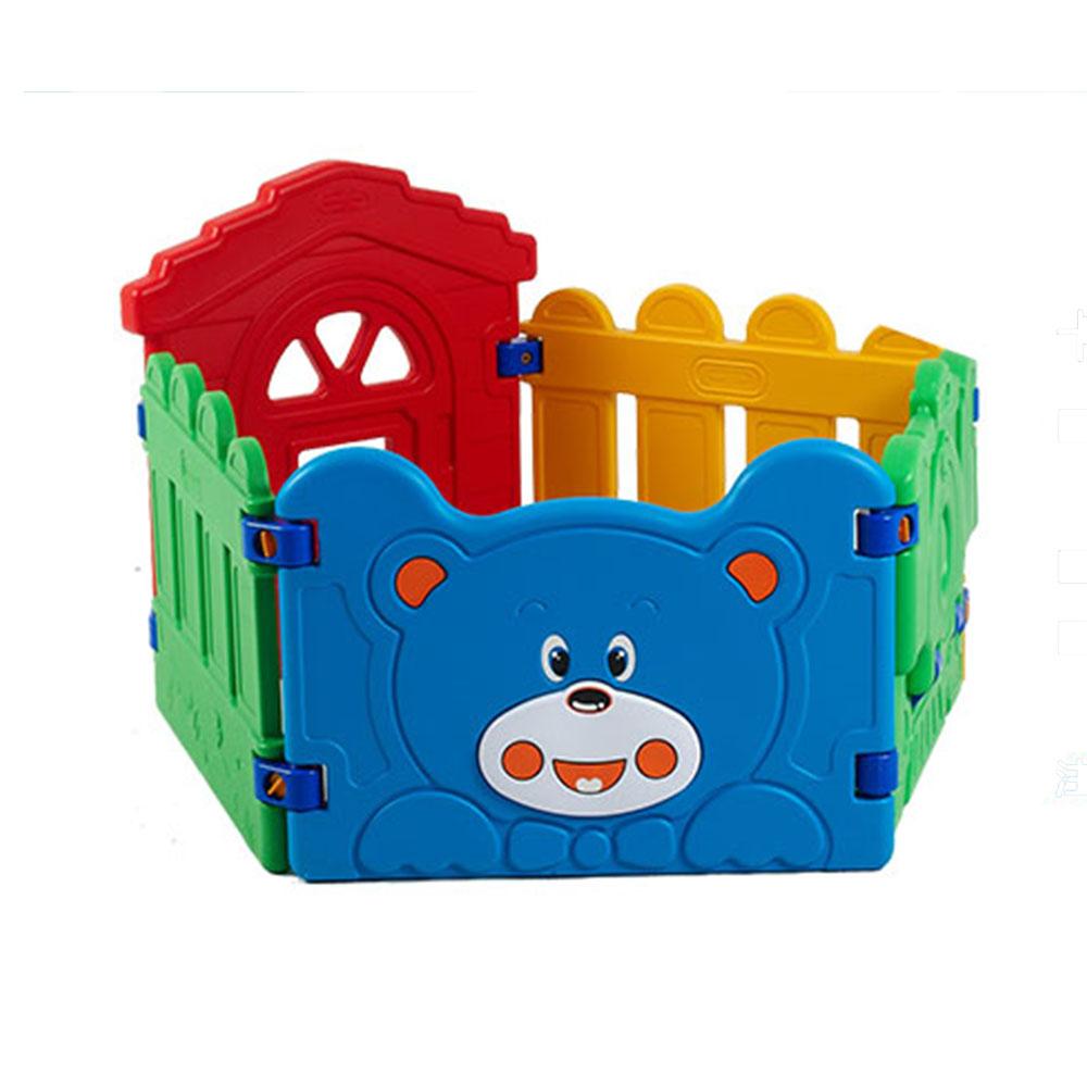 คอกกั้นเด็กหน้าหมี สำหรับทำบ้านบอล