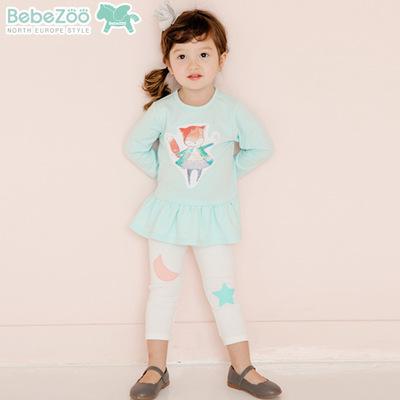 BZ267-เสื้อ+กางเกง 5 ตัว/แพค ไซส์ 90 100 100 110 110