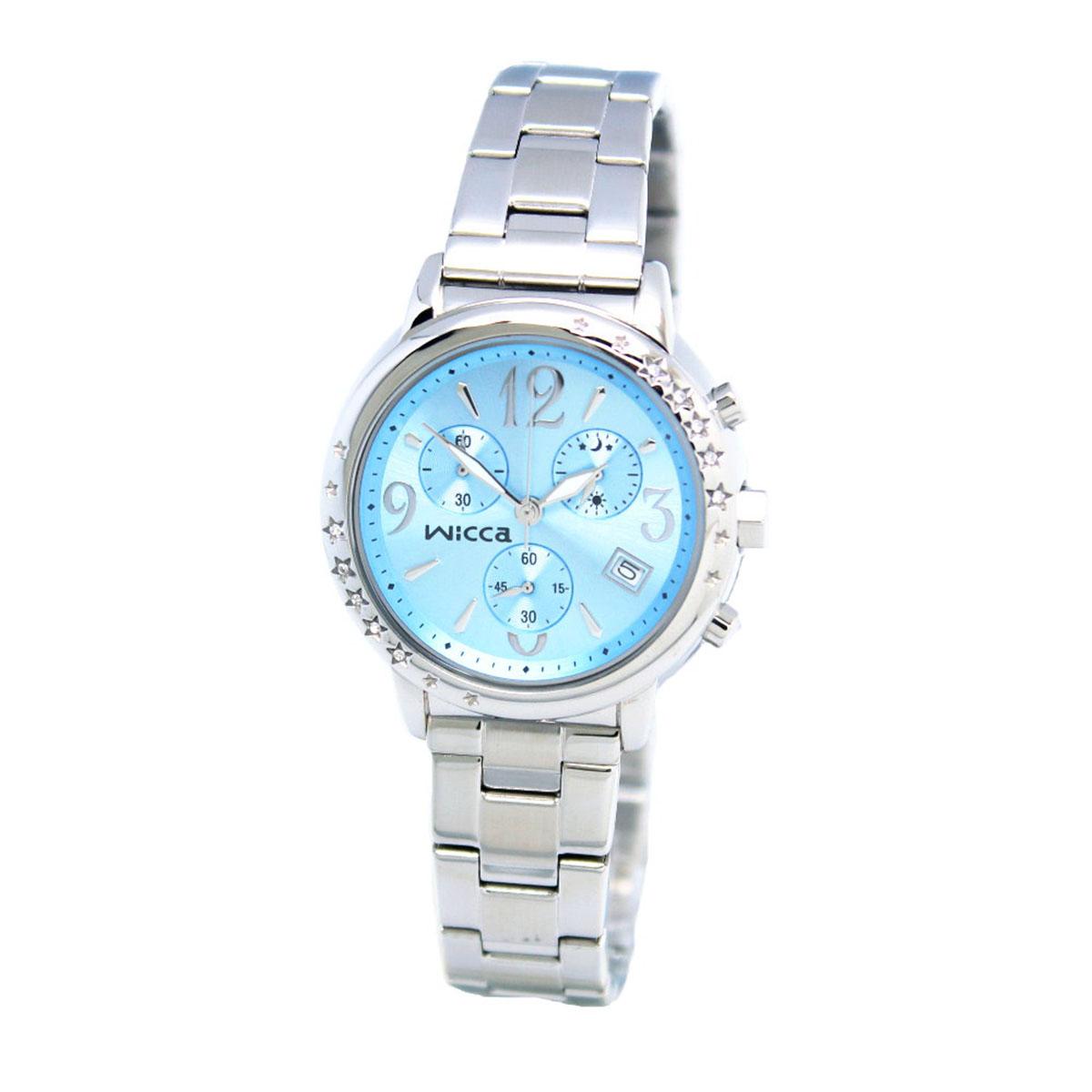 นาฬิกาผู้หญิง Citizen รุ่น BM1-113-71, Casual Chrono Analog Silver Watch