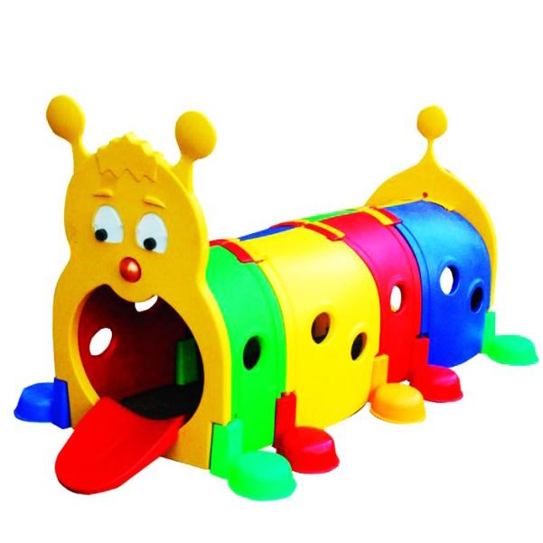 อุโมงค์หนอนหลากสี สำหรับเด็ก