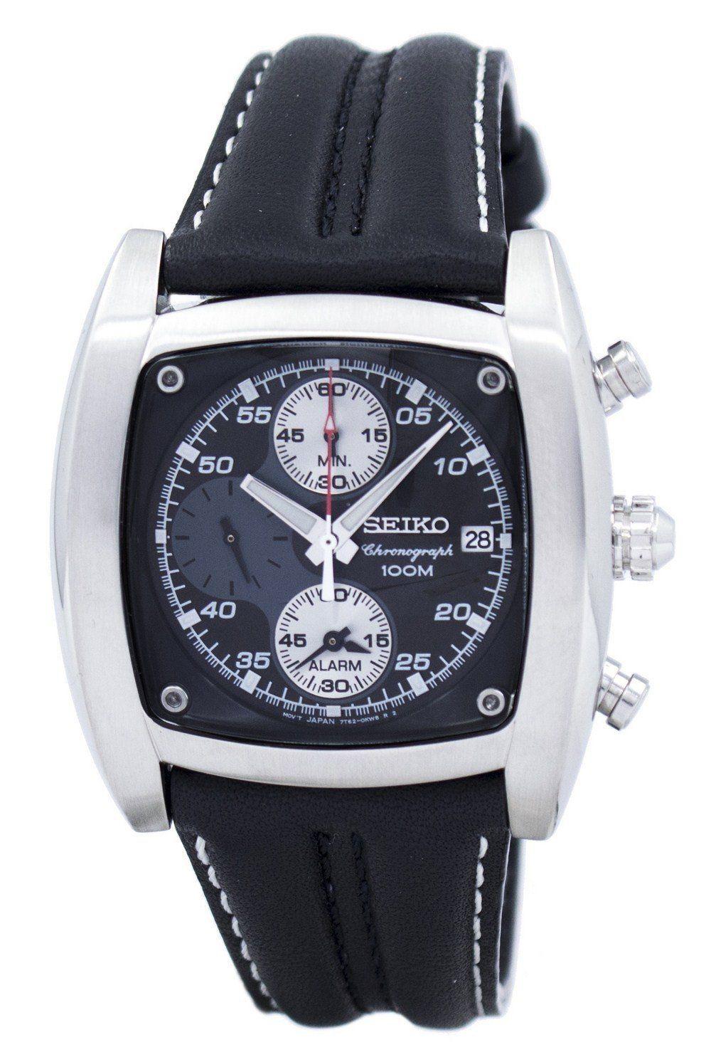 นาฬิกาผู้ชาย Seiko รุ่น SNAB03P1, Chronograph