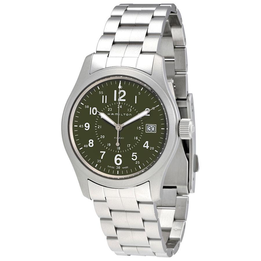 นาฬิกาผู้ชาย Hamilton รุ่น H68201163, Khaki Field