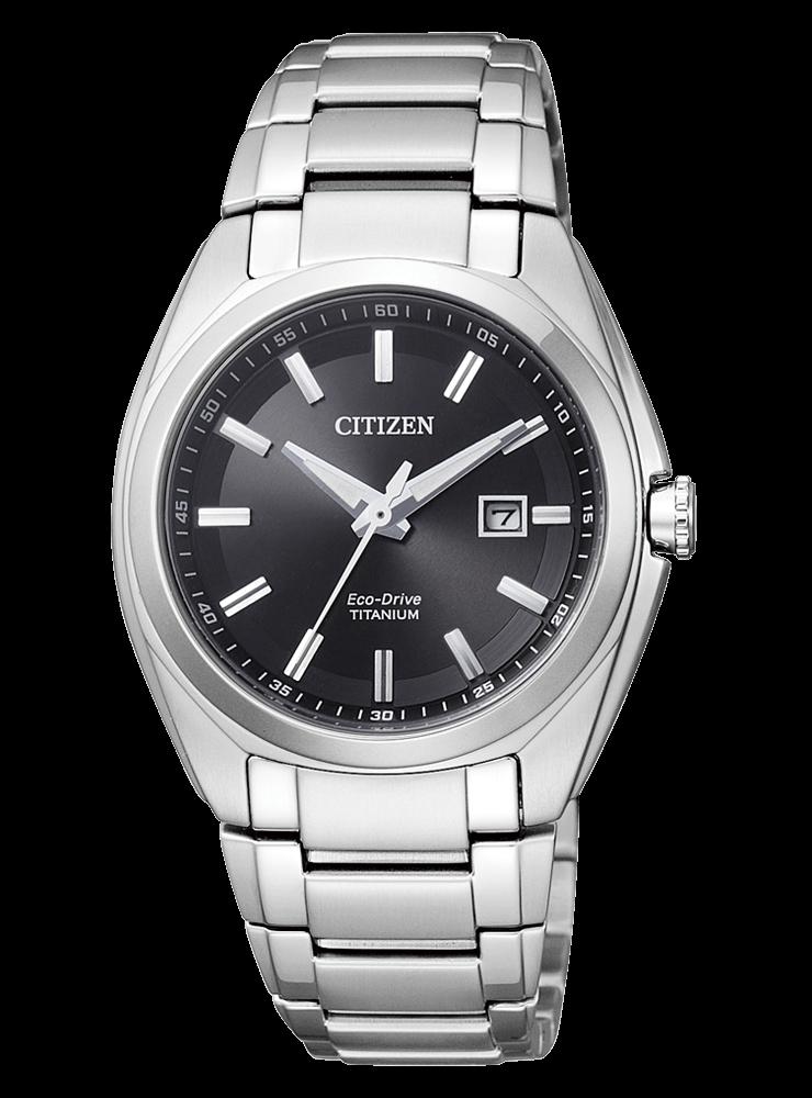 นาฬิกาผู้หญิง Citizen Eco-Drive รุ่น EW2210-53E, Super Titanium Sapphire