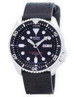 นาฬิกาผู้ชาย Seiko รุ่น SKX007J1-LS8, Automatic Diver's Ratio Black Leather