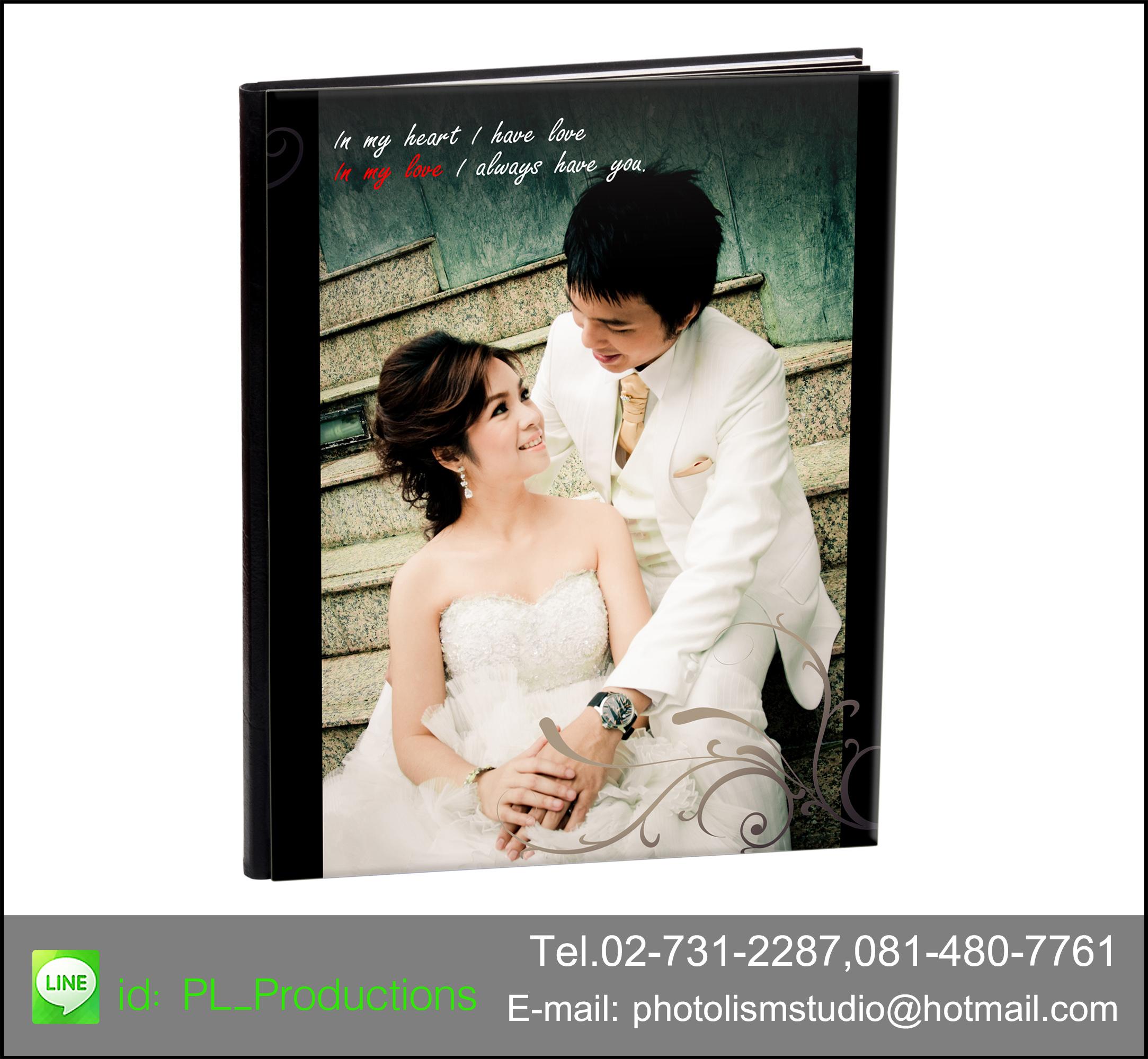 Album LCD ขนาด 12x15 นิ้ว แนวนอน 30 หน้า ปกอะครีลิค