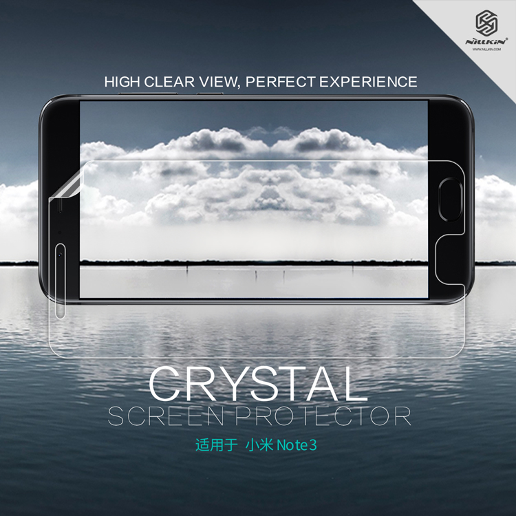 ฟิล์มกันรอยใส Nillkin Super Clear สำหรับ Xiaomi Mi Note 3