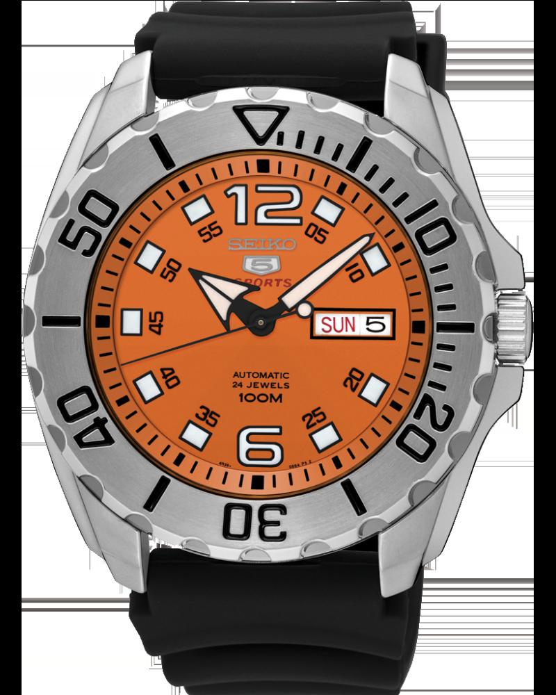 นาฬิกาผู้ชาย Seiko รุ่น SRPB39K1, Seiko 5 Sports Automatic