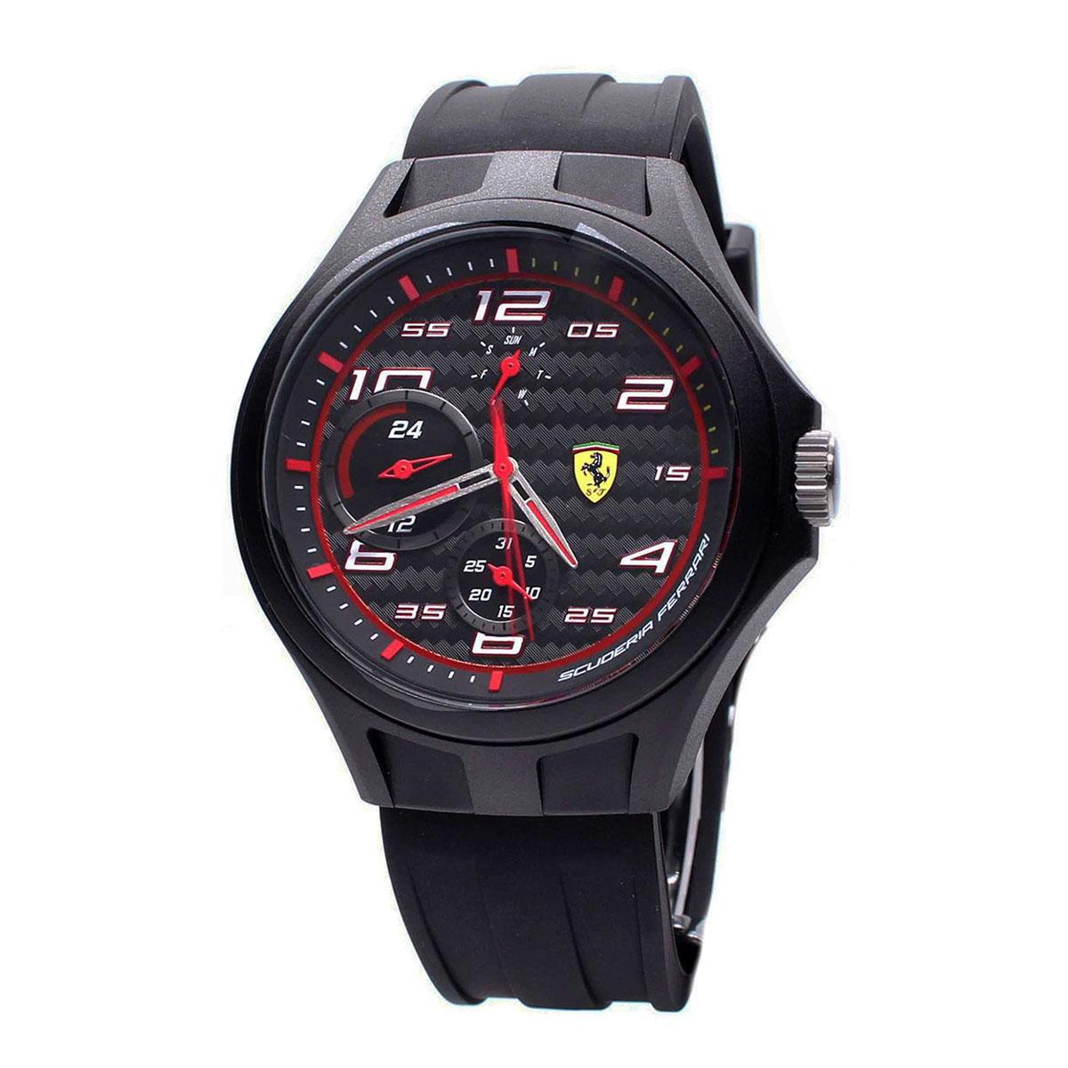นาฬิกาผู้ชาย Ferrari รุ่น 0830290, Pit Crew