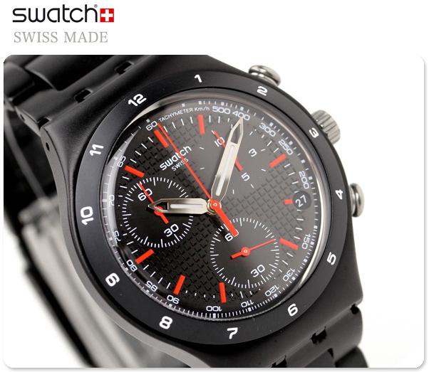 นาฬิกา ชาย-หญิง Swatch รุ่น YCB4019AG, Black Energy