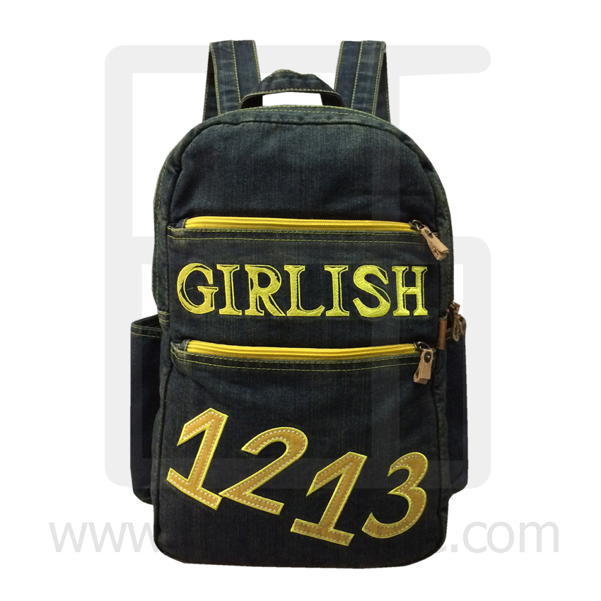 High quality Jeans Backpack, Travel, Leisure, Vacation Denim Backpack Big 1213