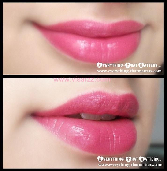 MAC Amplified Cream Lipstick # Craving 3 g (ขนาดปกติ) ลิปสติกสีชมพูหวานทาแล้วเรียวปากน่ารักน่าจุ๊บสุดๆ ค่ะ