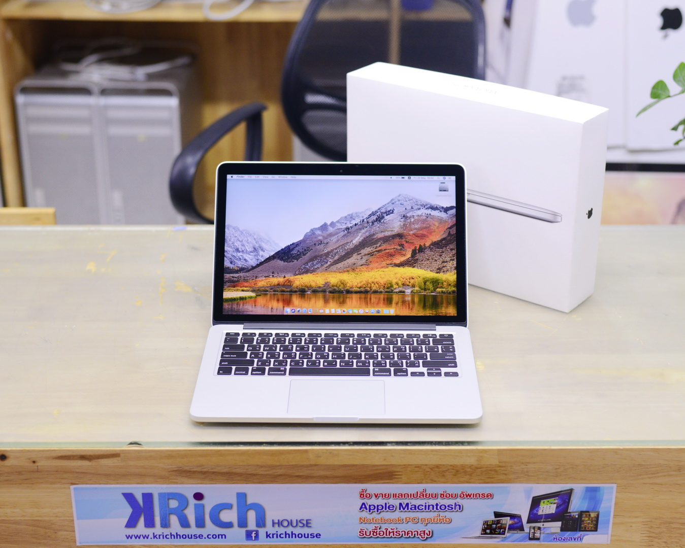 CTO - MacBook Pro (13-inch, Early 2015) - Core i5 2.9GHz RAM 16GB SSD 128GB Fullbox - New Display+Battery