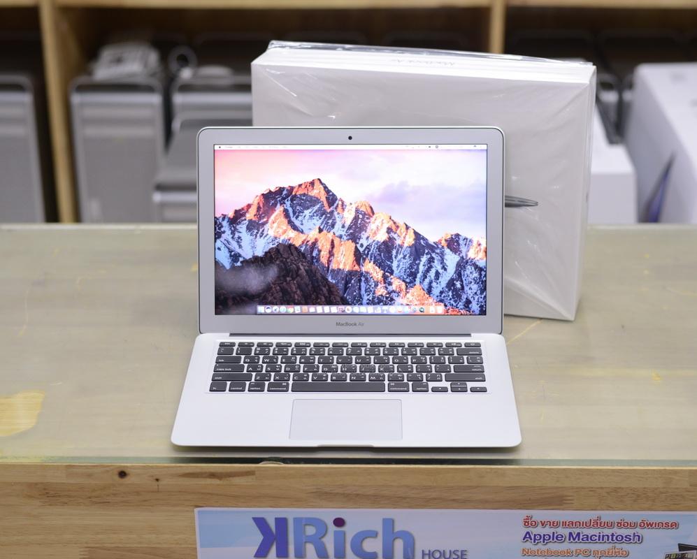 MacBook Air 13-inch Early2015 TOP MODEL Intel Core i5 1.6GHz RAM 8GB SSD 256GB FullBox