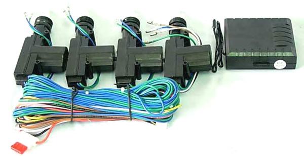 ชุดเซ็นทรัลล็อค+มอเตอร์ 4 ตัว