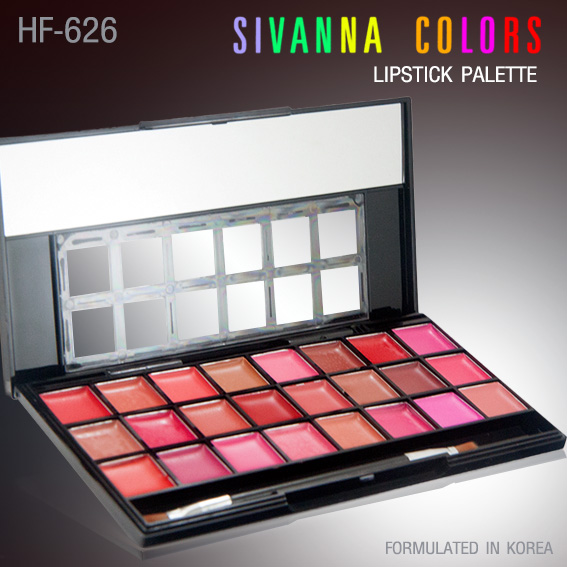 Sivanna Lipstick Pallete / ซิเวียน่า ลิปสติก พาเลท