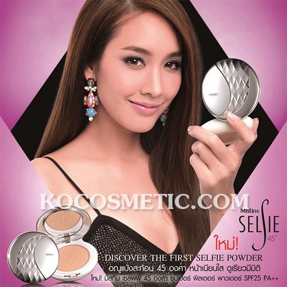 มิสทิน/มิสทีน เซลฟ์ฟี่ 15 องศา ซุปเปอร์ ฟิลเตอร์ พาวเดอร์ เอสพีเอฟ25พีเอ++ / Mistine Selfie Super Filter Powder SPF25PA++