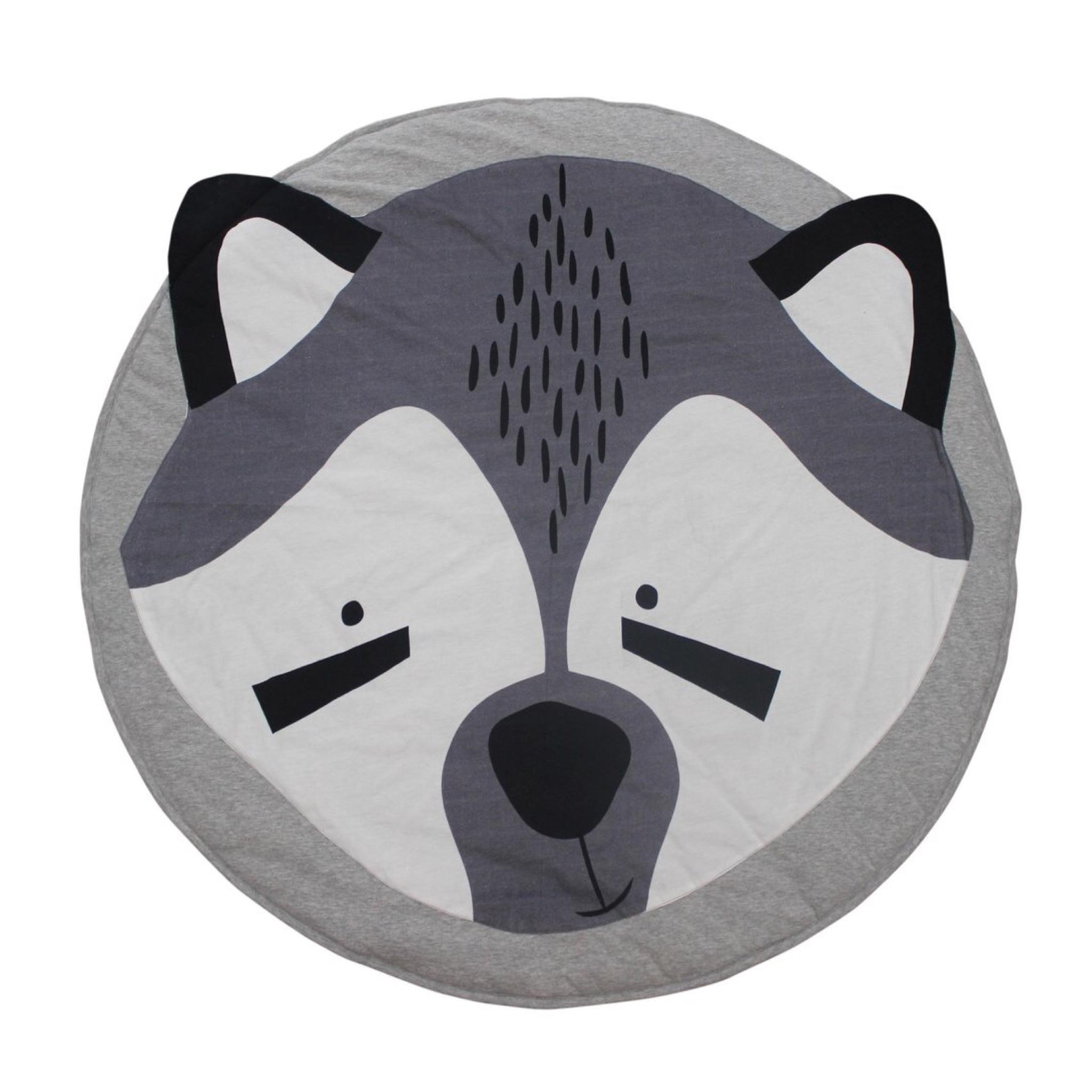 เบาะรองนอนสำหรับทารกและเด็กเล็ก Baby's Animal Playmat (Raccoon)