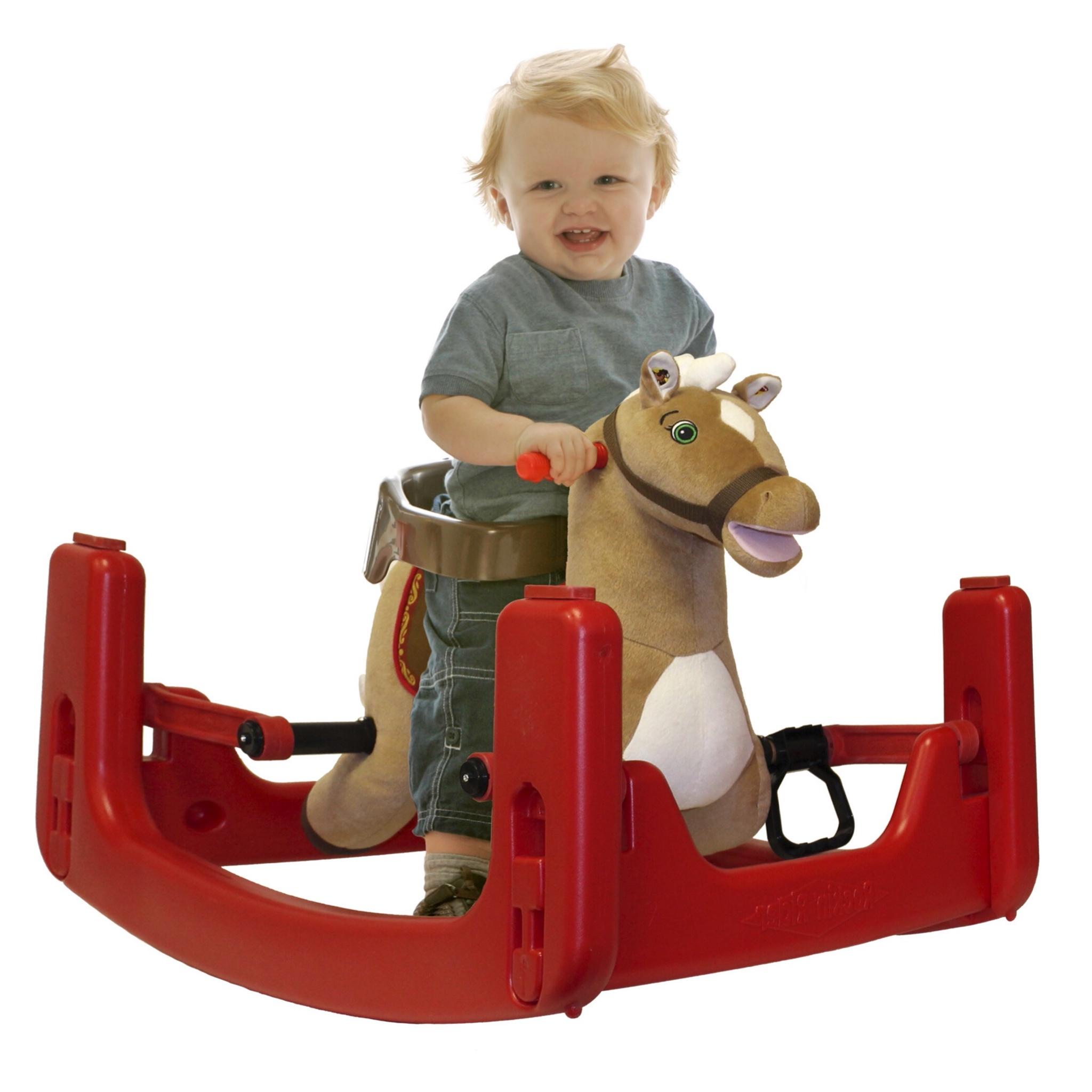 ม้าโยกไกวเด้งดึ๋งสุดมหัศจรรย์ Rockin' Rider Grow-with-Me Pony (Legacy)