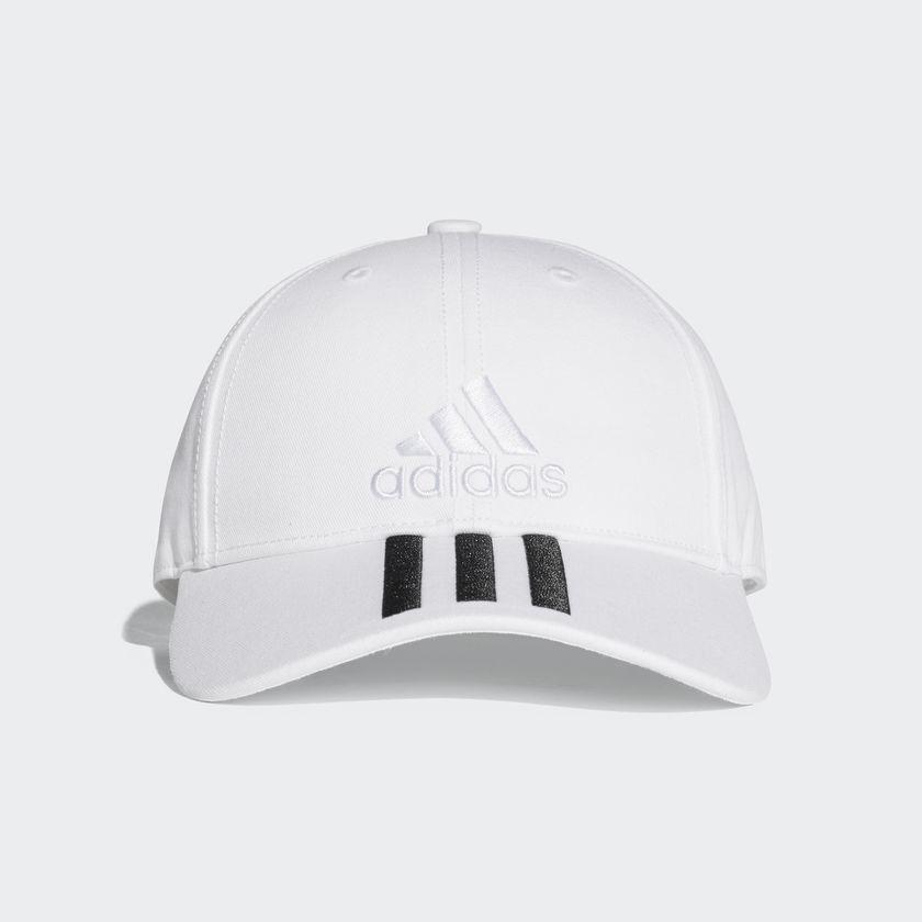 หมวก Adidas Six Panel Classic 3 Stripes Cap - White