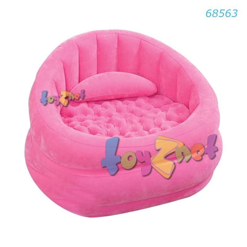 Intex เก้าอี้เป่าลม คาเฟ่แชร์ (สีชมพู) รุ่น 68563