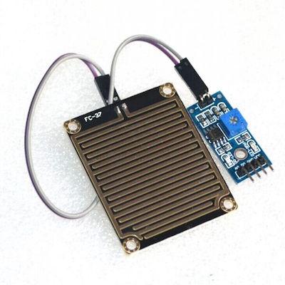 Arduino Raindrop Sensor เซ็นเซอร์น้ำฝน เซ็นเซอร์ความชื้น