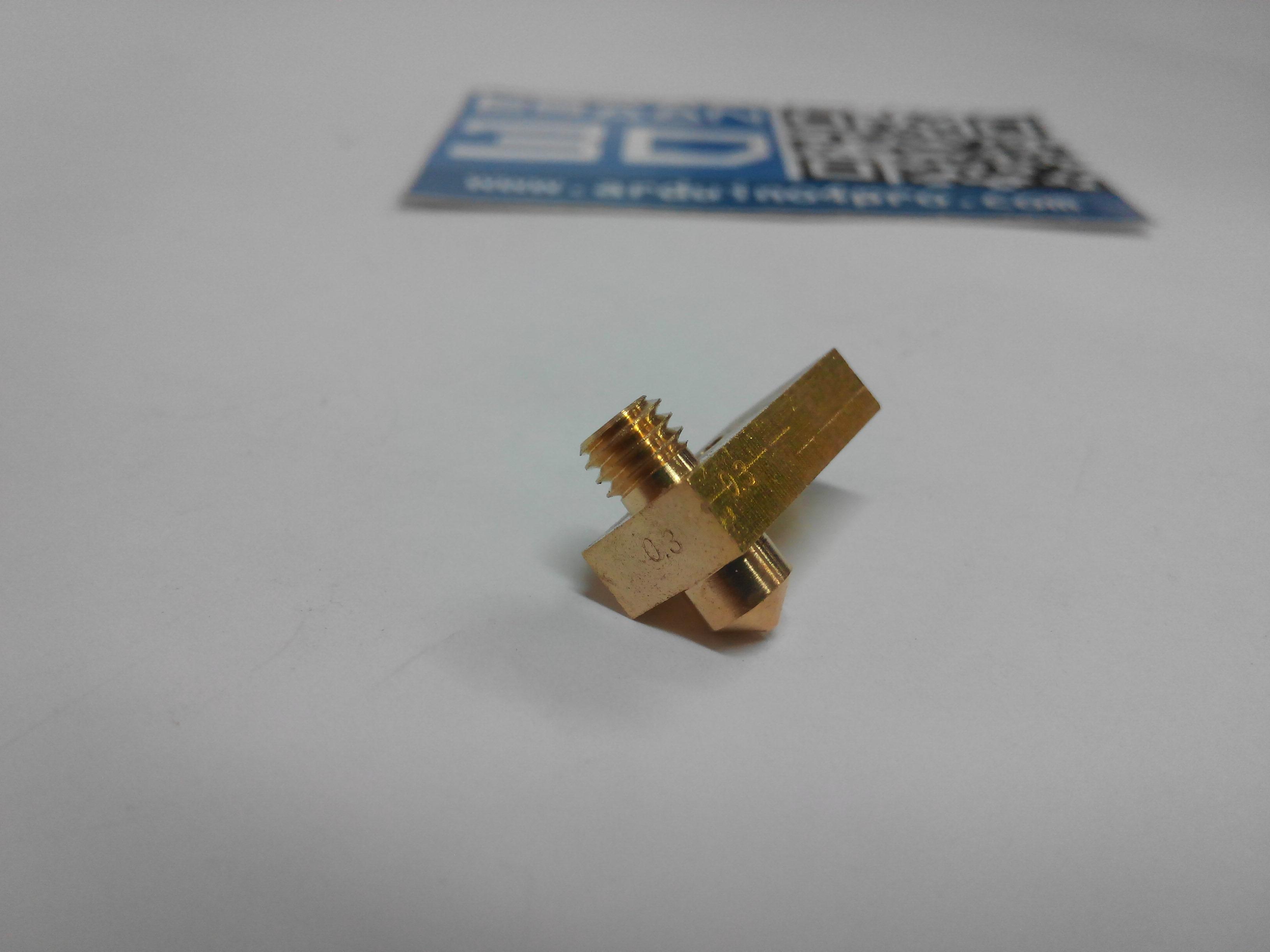 0.3mm Nozzle + Heatblock for Ultimaker 2