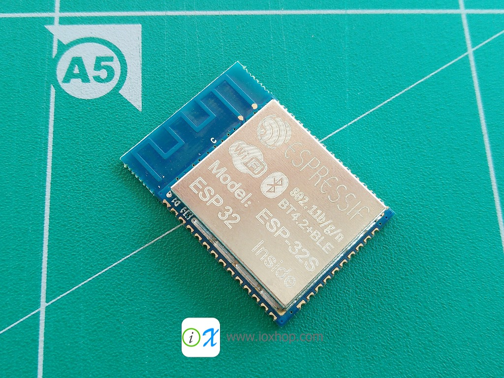 ESP32 ESP32S new WiFi BLE chip dual core 32-bit mcu + PCB Adapter