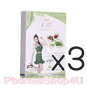 (ซื้อ3 ราคาพิเศษ) (LB9) LB ต้นหอม 30 แคปซูล/กล่อง อาหารเสริมลดน้ำหนัก ดักจับไขมัน เร่งการเผาผลาญ ด้วยสารสกัดธรรมชาติ เคล็ดลับหุ่นสวยของ ดีเจ ต้นหอม