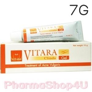 VITARA Clinda-Gel 7g เจลใสแต้มสิว ดีกว่าแบบน้ำ ช่วยลดการอักเสบของสิว และป้องกันการเกิดรอยดำ