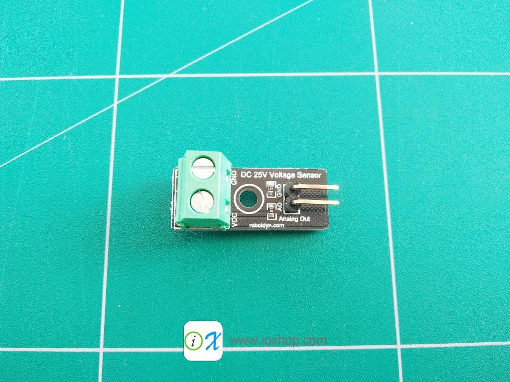 RobotDyn Simple DC Voltage Sensor, VDC 0-25V